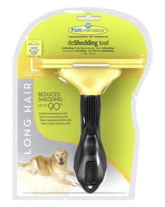 Caja nueva de cepillo furminator, cepillo para perros grandes
