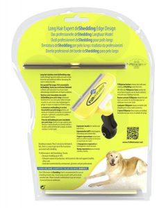 Caja de cepillo Furminator: Cepillo para perros grandes de pelo largo
