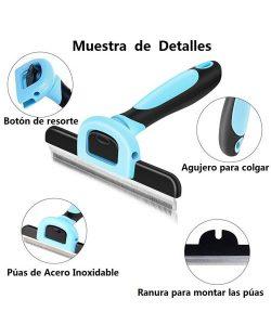 Detalles del cepillo VersionTech